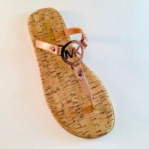 Michael Kors Jelly Sandals Cork, Sable Nude 8